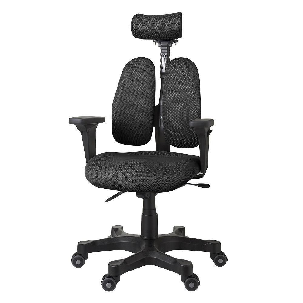 【送料無料】回転椅子 DR-7501SP(A-BLACK) 【代引不可】