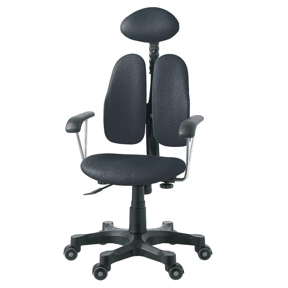 【送料無料】回転椅子 DR-7900SP(PU BLACK) 【代引不可】