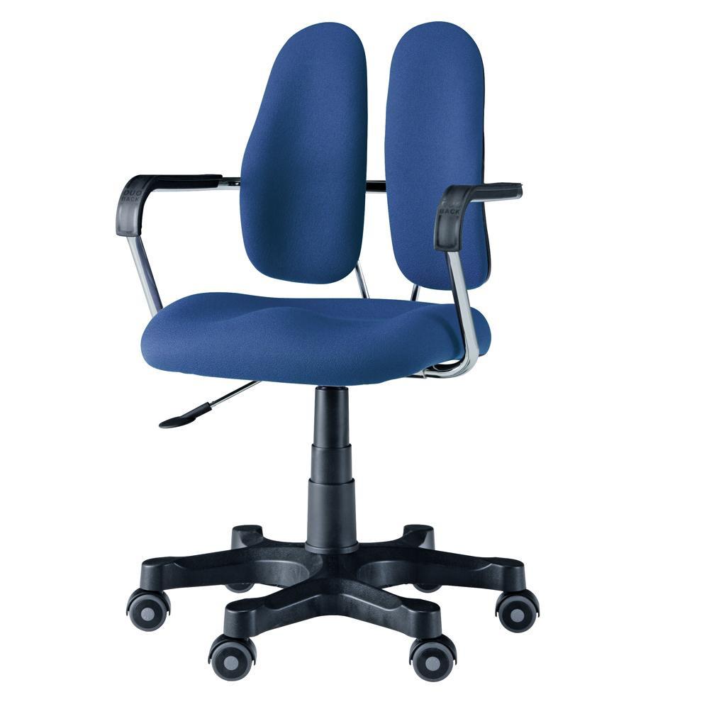 【送料無料】回転椅子 DR-260 (DOT BLUE) 【代引不可】