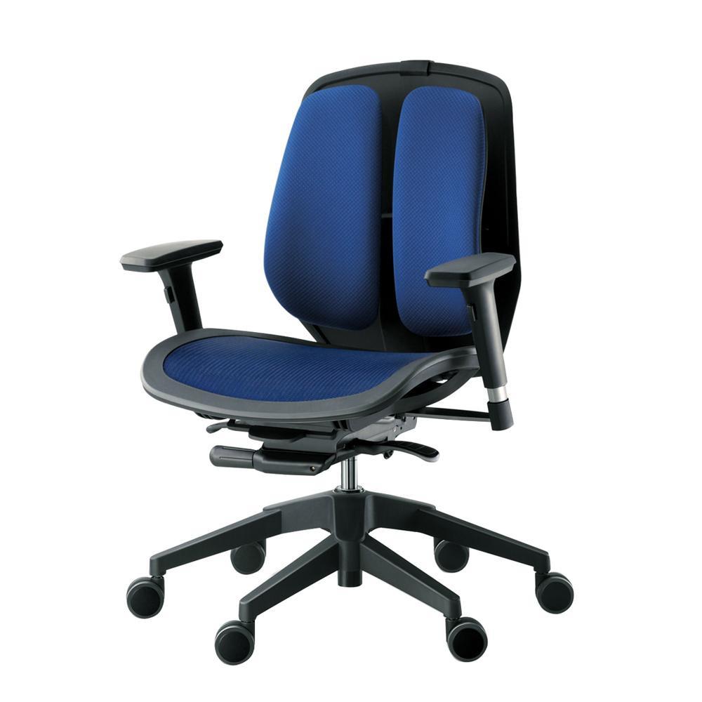 【送料無料】回転椅子 α80N (MESH BLUE) 【代引不可】