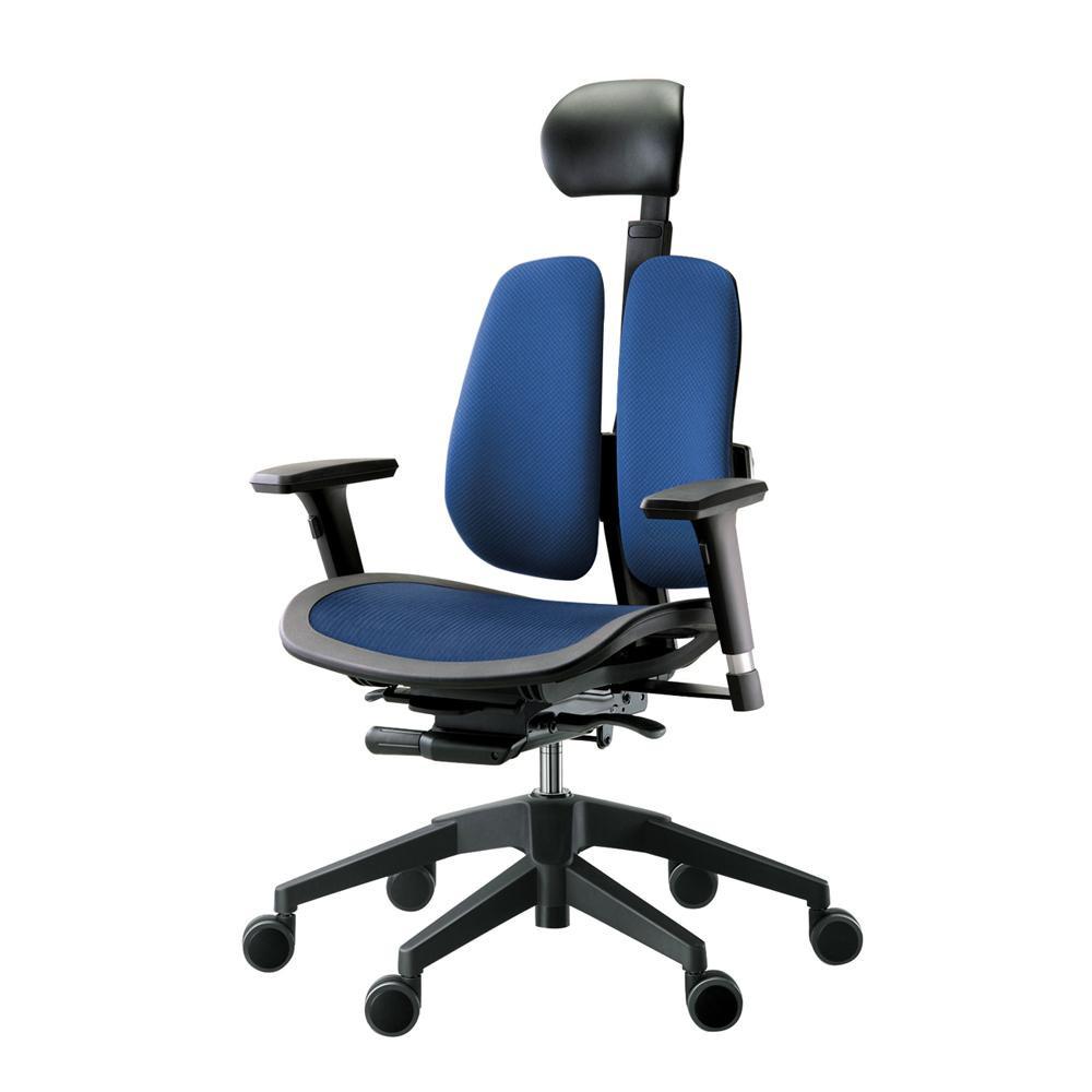 【送料無料】回転椅子 α60H (MESH BLUE) 【代引不可】