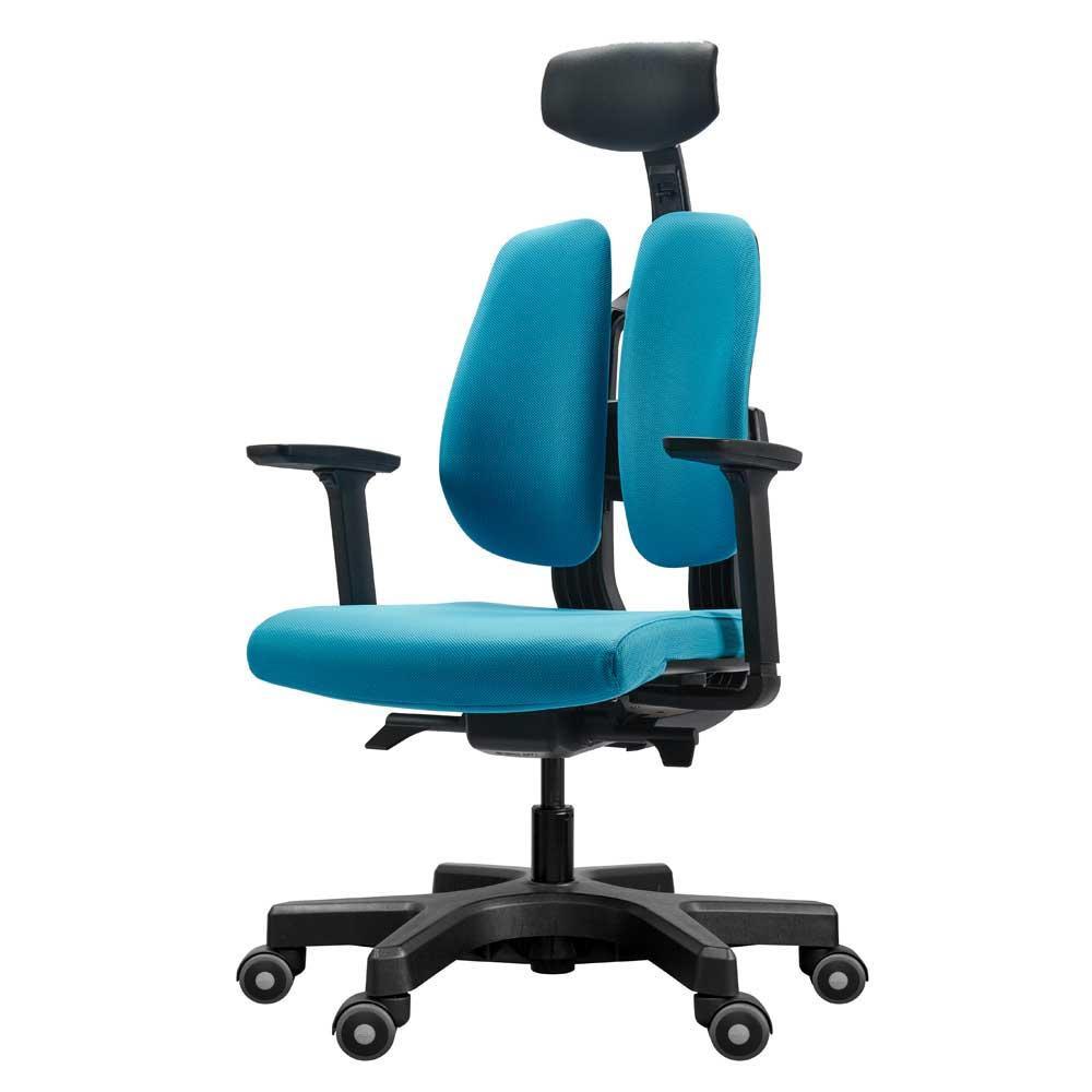 【送料無料】回転椅子 D100 (BLUE) 【代引不可】