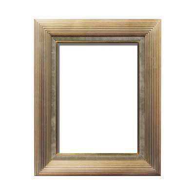 【送料無料】油額 金 F4号 ガラス 333×242mm 3002 【代引不可】
