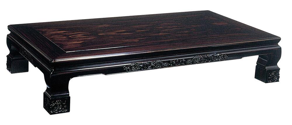 【送料無料】日本製 讃岐の和座 座卓 吾妻 サイズ 180 天板表面材 コクタン TA15-04 国産品【代引不可】