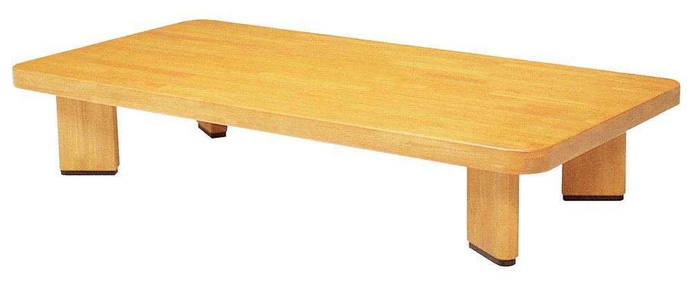 【送料無料】日本製 讃岐の和座 座卓 オリオン角 サイズ 120 天板表面材 ラバーウッド無垢 TA15-122 国産品【代引不可】