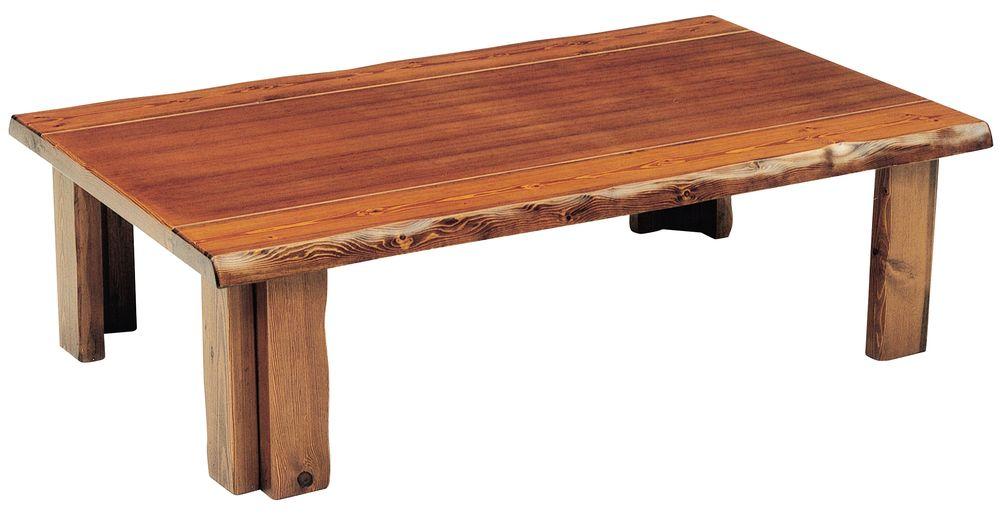 【送料無料】日本製 讃岐の和座 座卓 ホープ ブラウン サイズ 135 天板表面材 マツ TA15-127 国産品【代引不可】