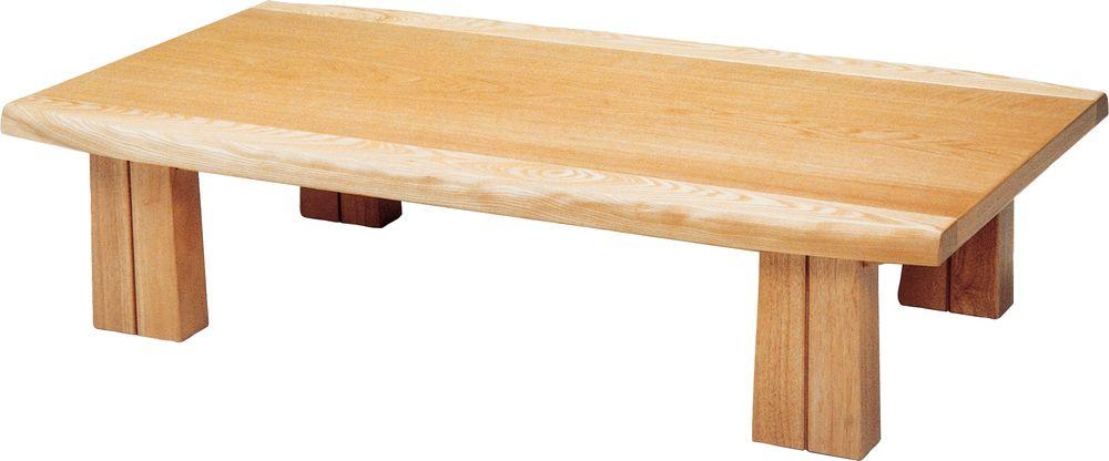 【送料無料】日本製 讃岐の和座 座卓 フローレ サイズ 135 天板表面材 ナラ TA15-131 国産品【代引不可】