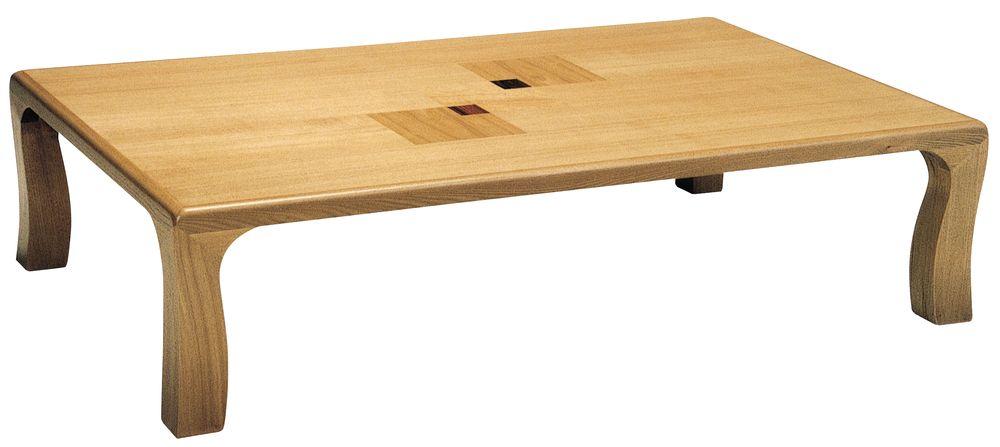 【送料無料】日本製 讃岐の和座 座卓 ライフ サイズ 150 天板表面材 タモ TA15-137 国産品【代引不可】