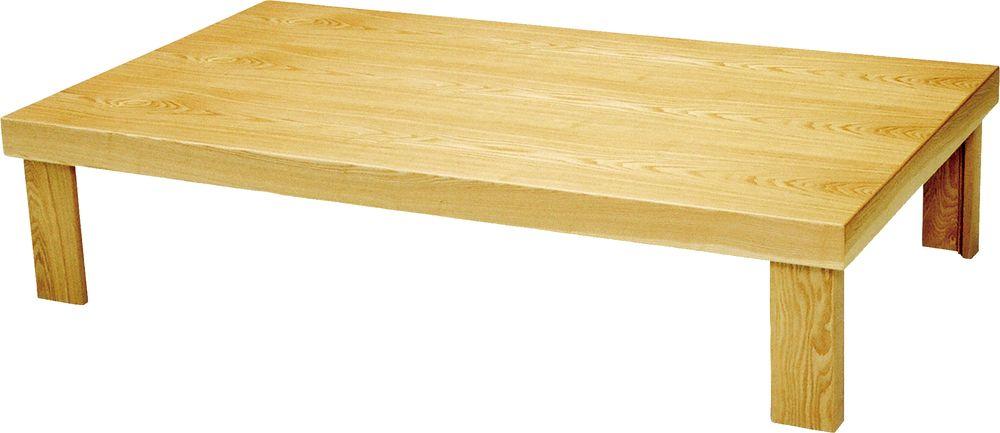 【送料無料】日本製 讃岐の和座 座卓 葉月 舟かくしタイプ サイズ 135 天板表面材 タモ TA15-148 国産品【代引不可】