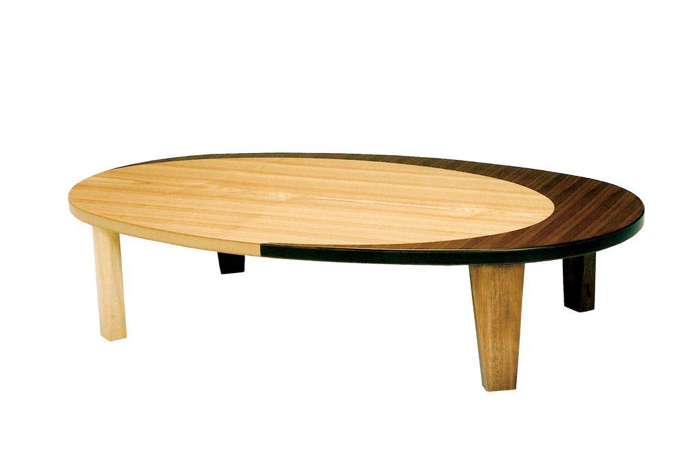 【送料無料】日本製 讃岐の和座 座卓 クラン サイズ 120 天板表面材 ナラ、ウォールナット TA15-159 国産品【代引不可】