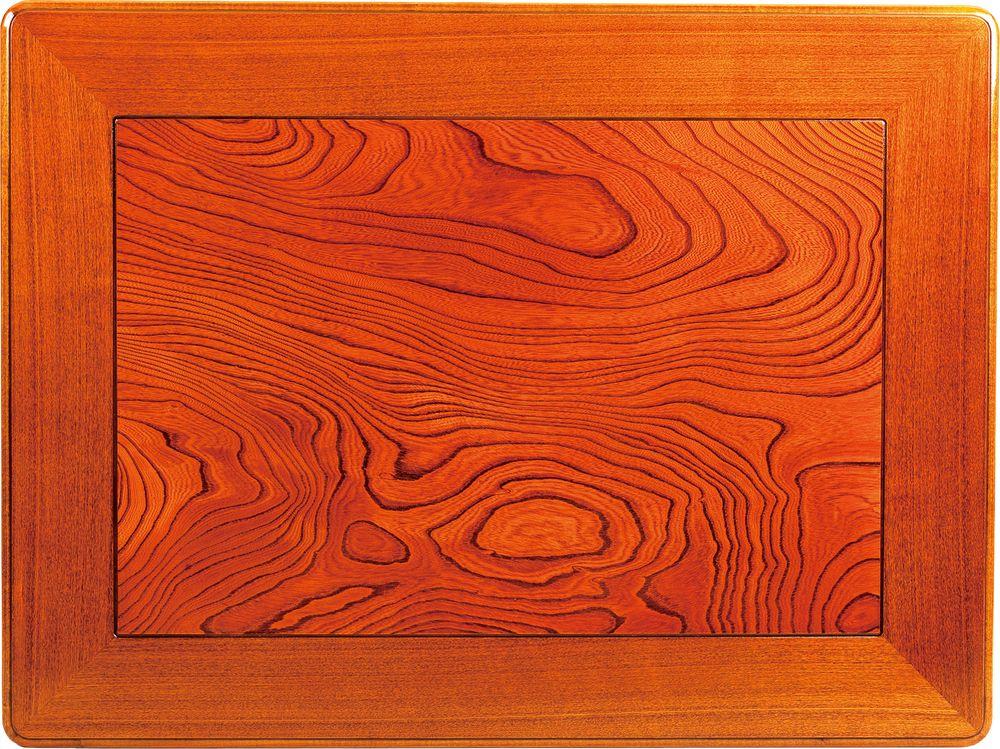 【送料無料】日本製 讃岐の和座 こたつ板 ケヤキ サイズ 120 天板表面材 ケヤキ ミゾあり 国産品【代引不可】