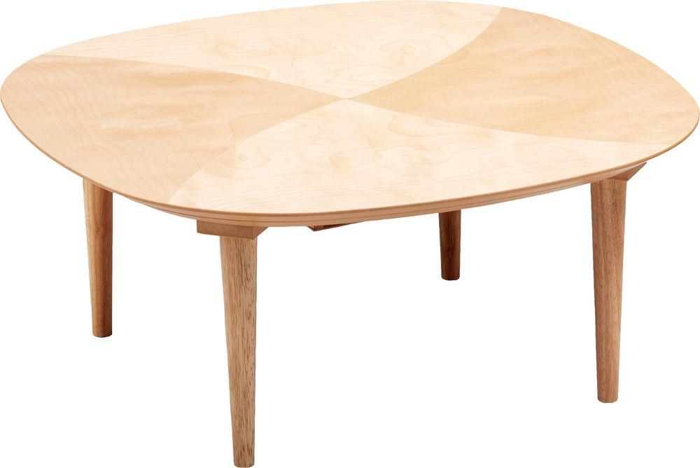 【送料無料】日本製 讃岐の和座 家具調こたつ オーガ サクラ サイズ 90 天板表面材 サクラ 国産品【代引不可】