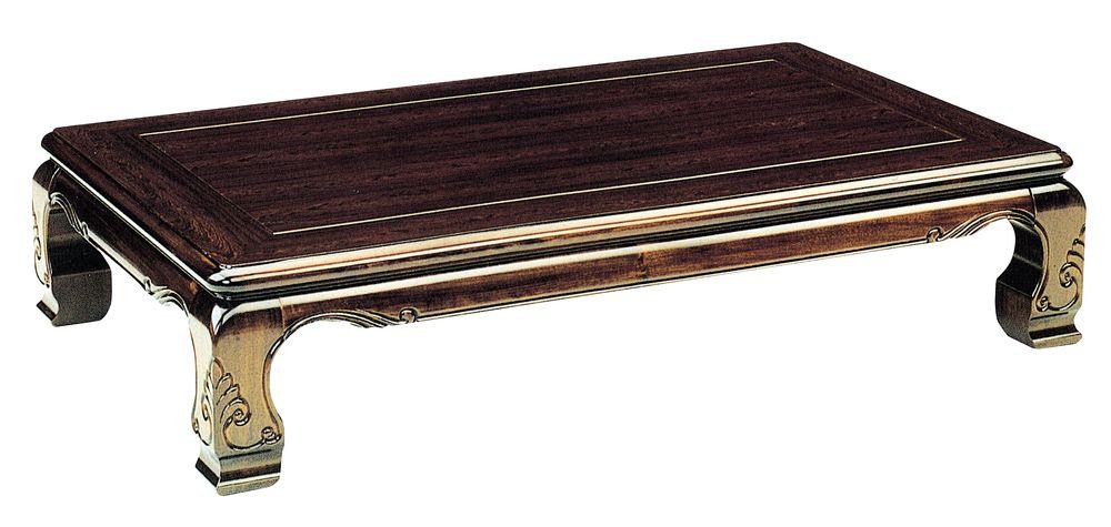 【送料無料】日本製 讃岐の和座 座卓 新木曽 サイズ 120 天板表面材 タガヤサン TA15-31 国産品【代引不可】