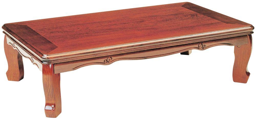 【送料無料】日本製 讃岐の和座 座卓 新弥生 サイズ 105 天板表面材 ケヤキ TA15-68 国産品【代引不可】