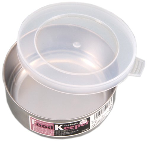 Made in Japan japan stainless steel lid-Tupperware (small) 7-06-01