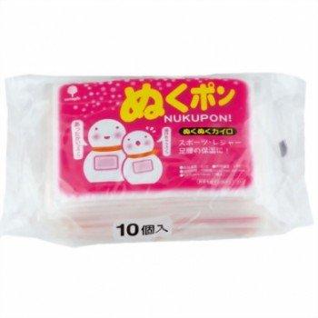 日本製 japan 紀陽除虫菊 ぬくポン (ミニ) 10個入〔まとめ買い48個セット〕 H-5007【代引不可】