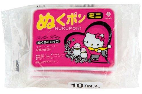 日本製 japan 紀陽除虫菊 ハローキティ ぬくポン (ミニ) 10個入〔まとめ買い48個セット〕 H-5032【代引不可】