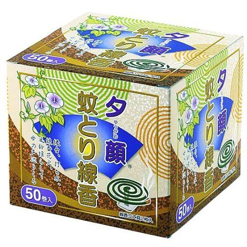 【送料無料】日本製 japan 紀陽除虫菊 夕顔 蚊とり線香 50巻〔まとめ買い16個セット〕 Y-8506【防虫殺虫グッズ】【代引不可】