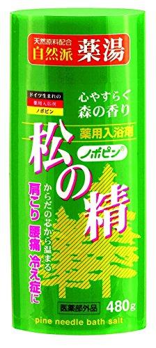 【送料無料】紀陽除虫菊 ノボピン 薬用入浴剤 松の精 480gボトル〔まとめ買い20個セット〕 N-0027【代引不可】