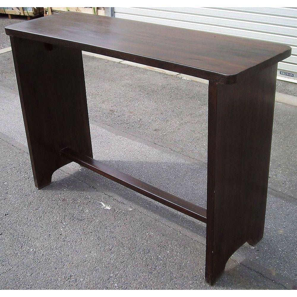 【送料無料】ジャービス商事 天然木無垢材 ウェイティングテーブル 36326 木製 アンティーク調【代引不可】