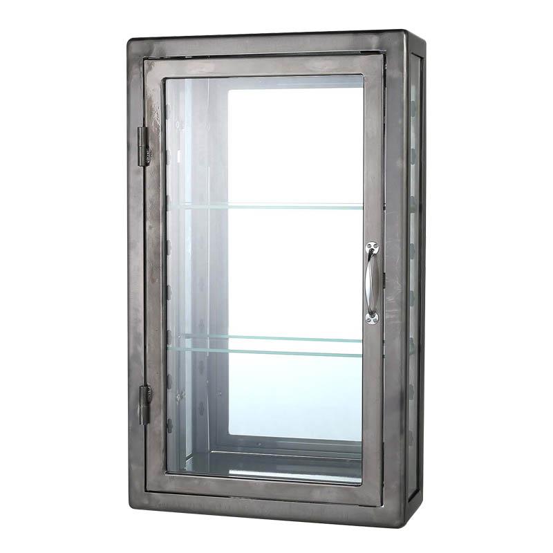 【送料無料】ダルトン ウォールマウント ガラスキャビネット レクタングル WALL MOUNT GLASS CABINET RECT RW 115-312RW【代引不可】