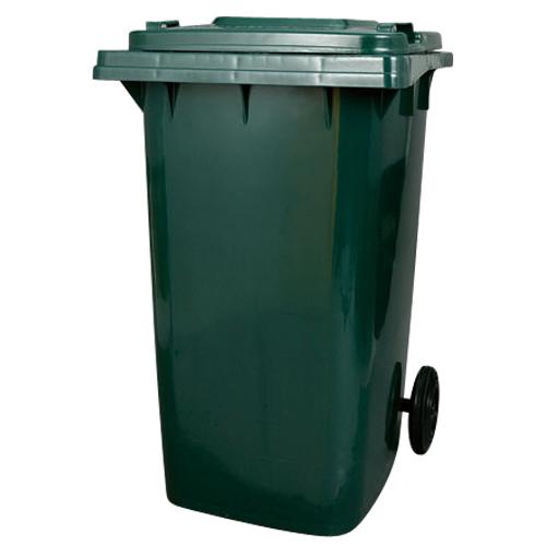 【送料無料】ダルトン プラスチック トラッシュカン 240リットル ゴミ箱 PLASTIC TRASH CAN 240L GREEN PT240GN【代引不可】