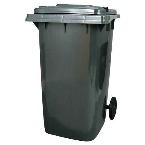 【送料無料】ダルトン プラスチック トラッシュカン 240リットル ゴミ箱 PLASTIC TRASH CAN 240L GRAY PT240GY【代引不可】