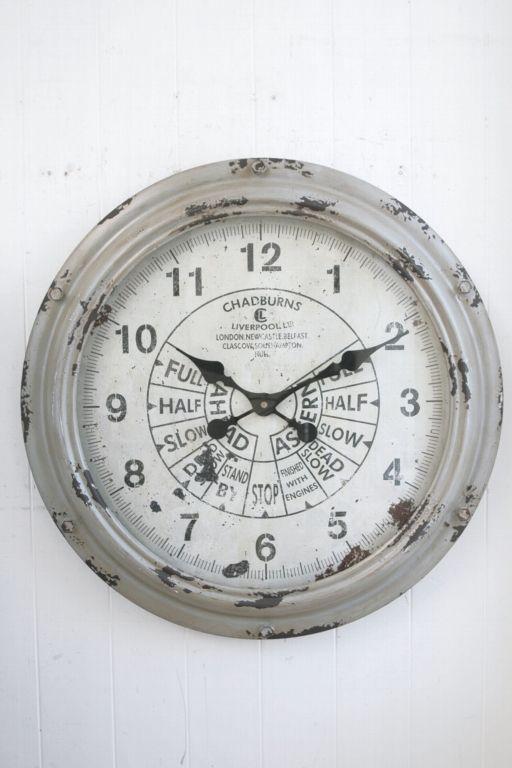 COVENT GARDEN アンティーク調 スロットル・ウォールクロック 壁掛け時計 KI-26【代引不可】