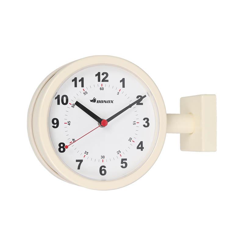 ダルトン 掛け時計 ダブルフェイスクロック アイボリー DOUBLE FACE CLOCK 170D IVORY S624-659IV【代引不可】【北海道・沖縄・離島配送不可】
