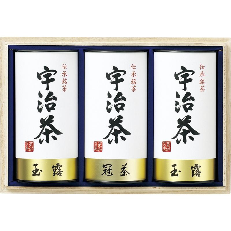【ギフト】宇治茶詰合せ(伝承銘茶)木箱入 LC1-100【代引不可】
