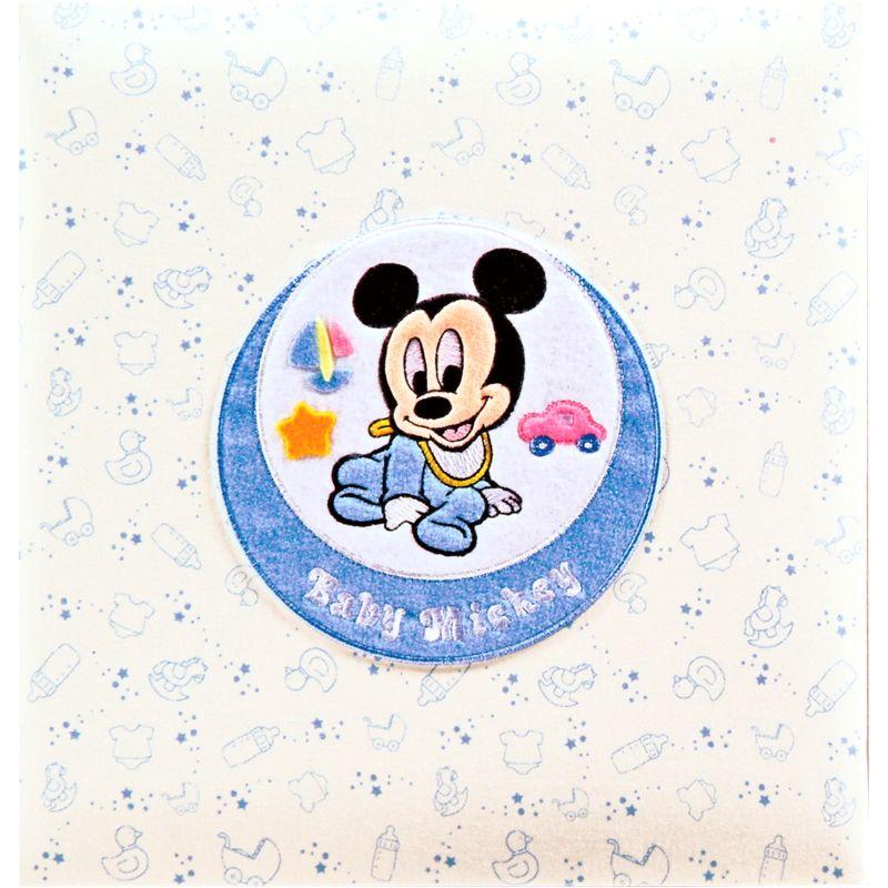 【ベビー名入れギフト】フエルアルバム ベビーミッキー&フレンズ アルバム ミッキー ア-LB-617-1【代引不可】