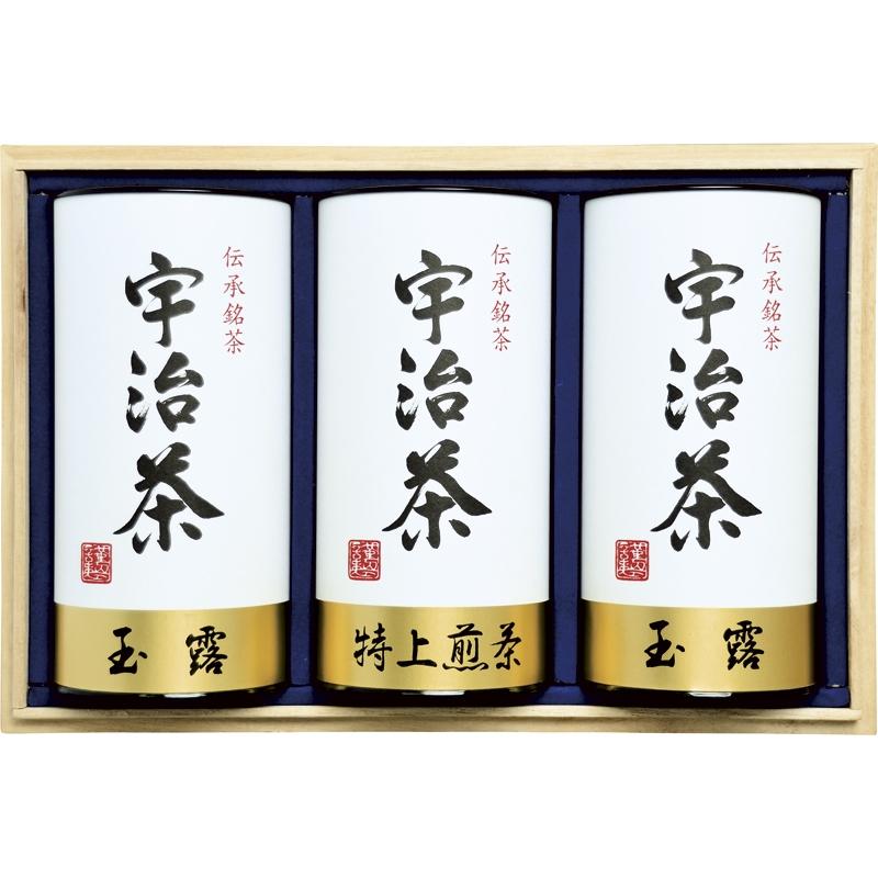 【送料無料】【ギフト】宇治茶詰合せ(伝承銘茶) LC1-201【代引不可】