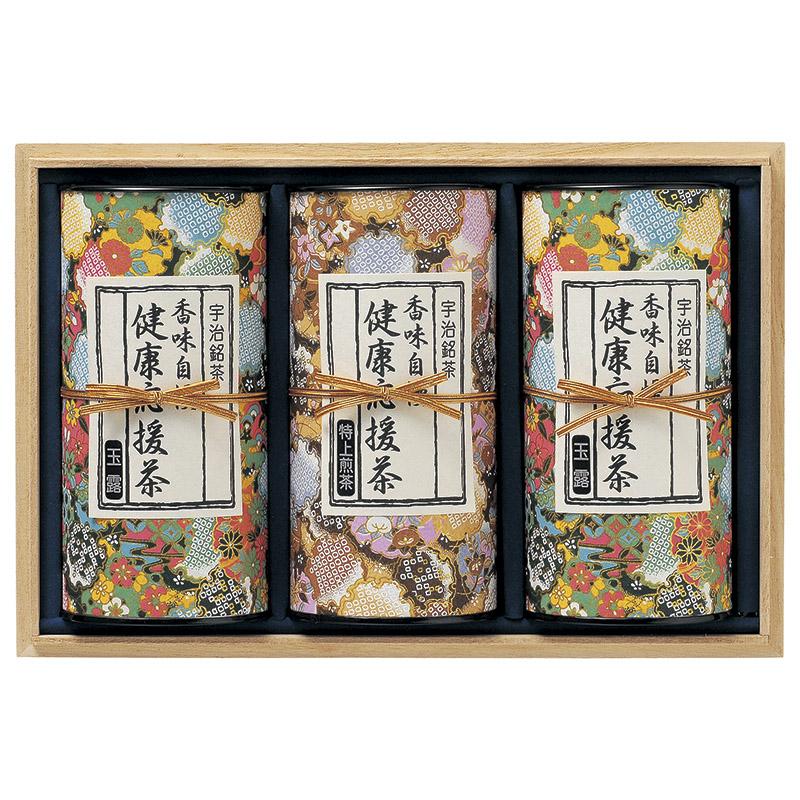 【ギフト】宇治茶「健康応援茶」 KO7-100A【代引不可】