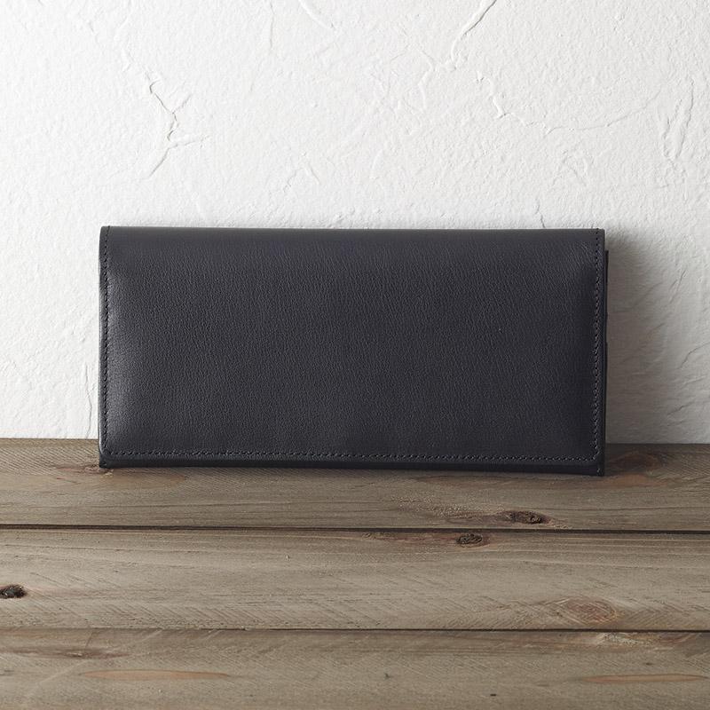 【送料無料】【ギフト】ソフトオイルレザー 長財布(ブラック) TA43-01【代引不可】
