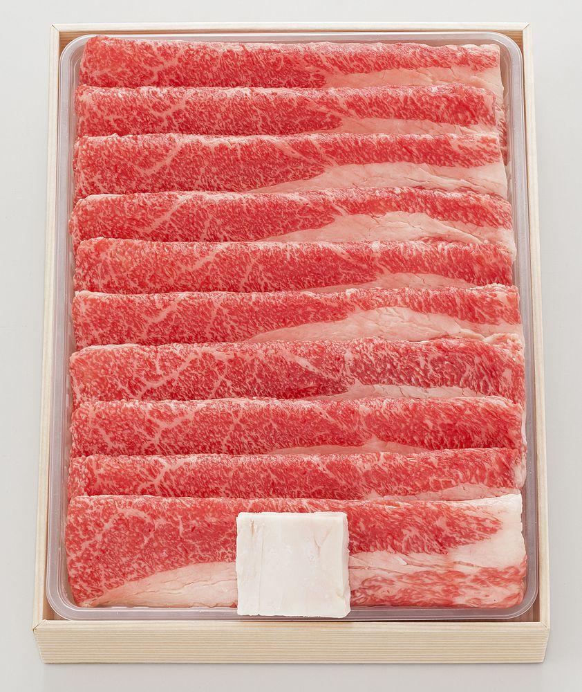 【ギフト】松阪牛 バラすき焼き用600g BS60-100MA【代引不可】