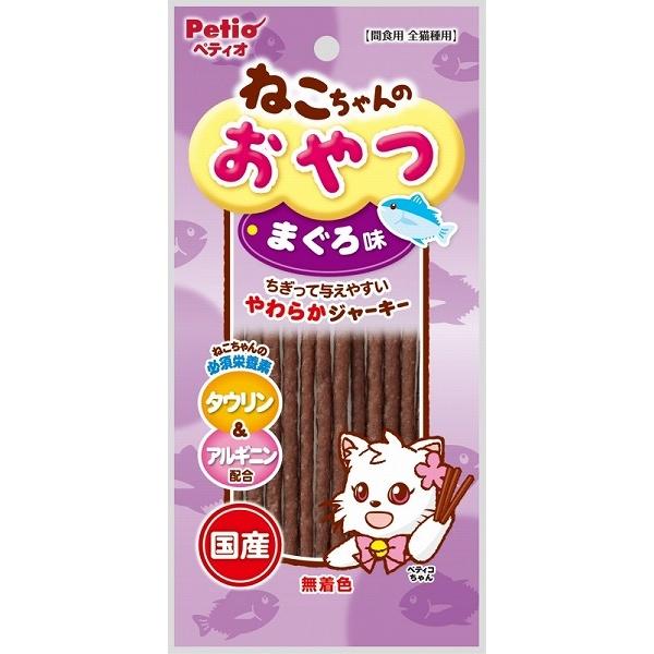 (まとめ買い)ペティオ ねこちゃんのおやつ まぐろ味 20g 猫用 〔×30〕【代引不可】