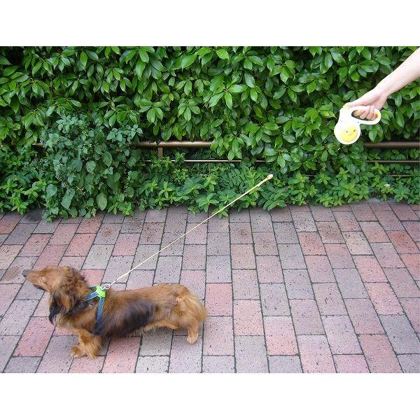 ドギーマン ドギーウォーカーフラッシュ S イエロー 犬用リード【代引不可】