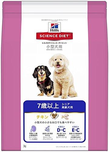 (まとめ買い)サイエンスダイエット シニア 小型犬用高齢犬用 3kg ドッグフード 〔×3〕【代引不可】【北海道・沖縄・離島配送不可】