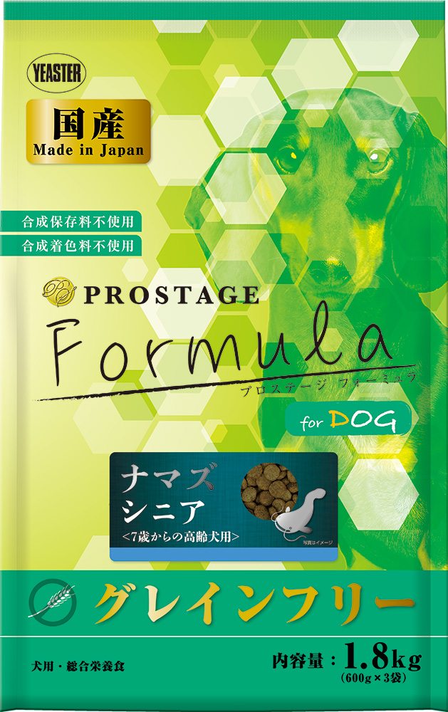 (まとめ買い)イースター プロステージ フォーミュラ ドッグ ナマズ シニア 1.8kg 〔×3〕 【北海道・沖縄・離島配送不可】