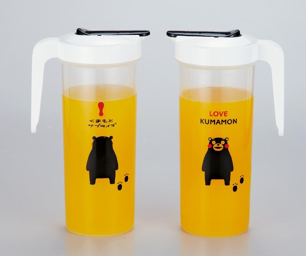 KUMAMON.熊装入水水罐 1300 毫升 AL-842 [购买 30 件]