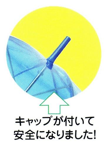 65 厘米 508 号乙烯基跳转伞 (透明)。