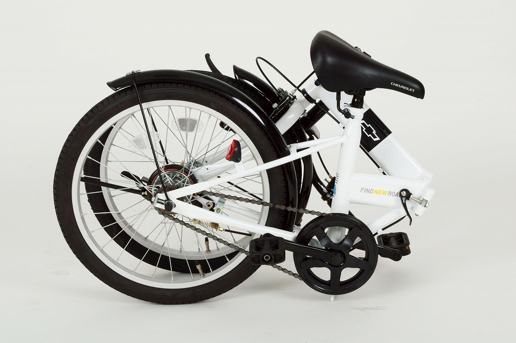 CHEVROLET folding bike FDB20R white MG-CV20R