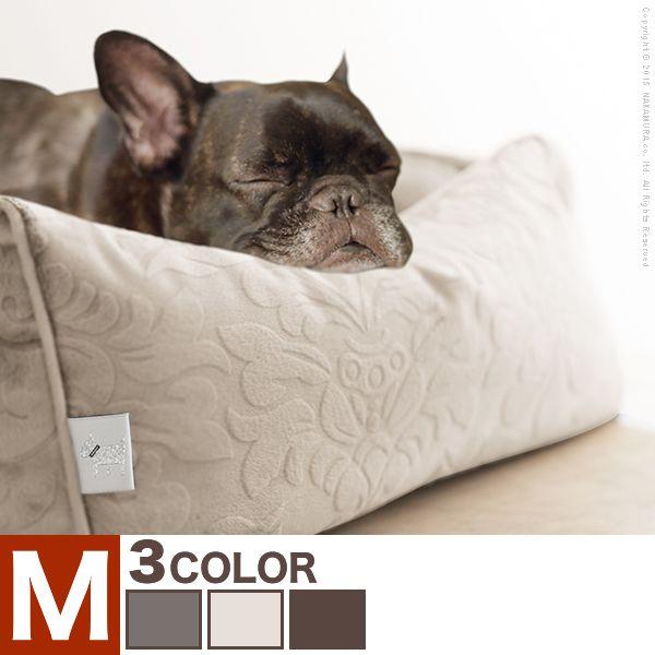 【送料無料】ペット ベッド ドルチェ Mサイズ タオル付き ペット用品 カドラー ソファタイプ【代引不可】