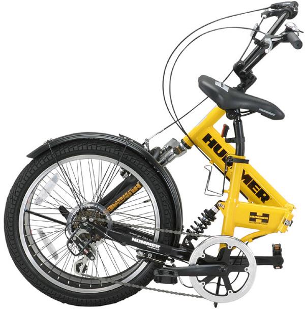 悍马 (悍马) 20 寸折叠自行车 6 速度 fb206 W sus