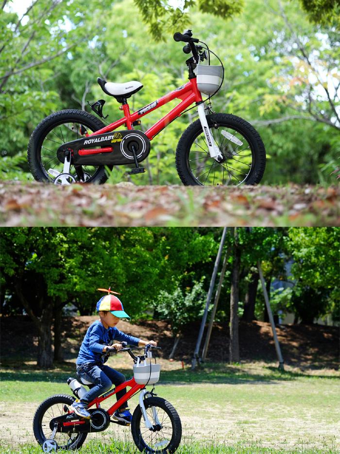 儿童自行车 BMX 风格绿色 RB Freestyle16 儿童自行车 16 寸 ROYALBABY (皇家宝贝)