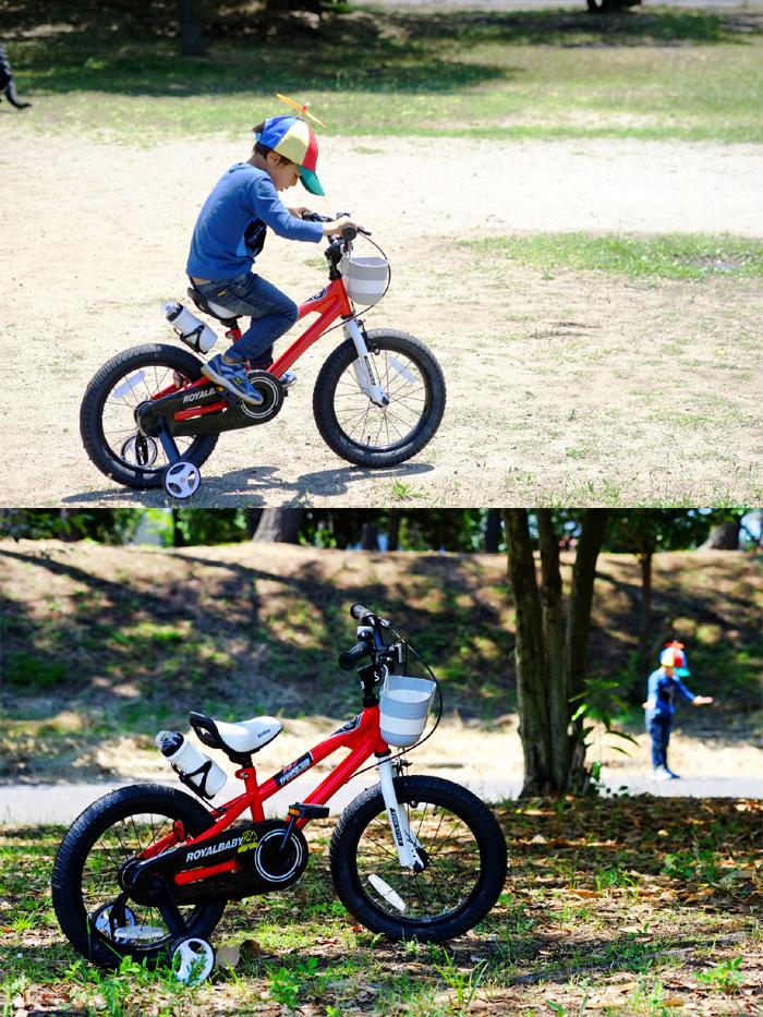 FUJIX: ROYALBABY (Royal baby) 14 inch children's bikes BMX-style RB ... royal baby bikes