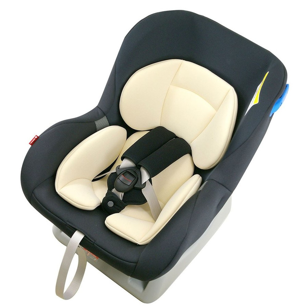 【送料無料】リーマン チャイルドシート ネディライフ スタイル日本製 新生児 0-4歳頃 CF526 ブラック【代引不可】