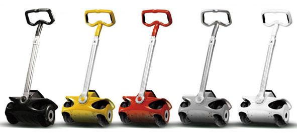 【送料無料】Robstep(ロボステップ) 立ち乗り 電動 2輪車 Robstep-M1【代引不可】