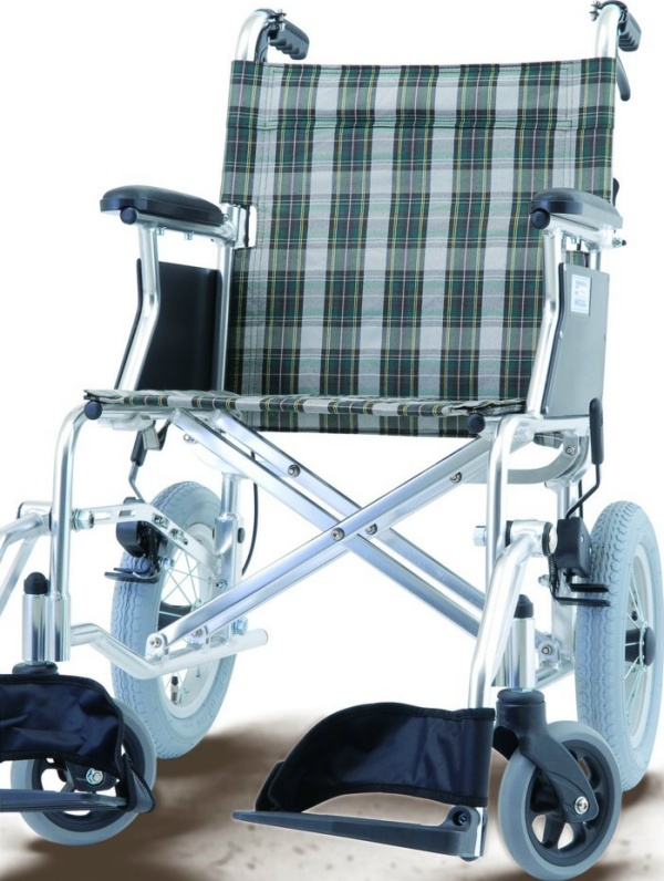 Compact wheelchair lightweight (aluminum, with brake assist) HTB-12