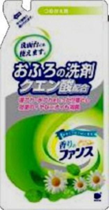 【送料無料】お風呂の洗剤クエン酸配合つめかえ用350ml 〔まとめ買い(20本×10ケース)合計200本セット〕 30-706【代引不可】